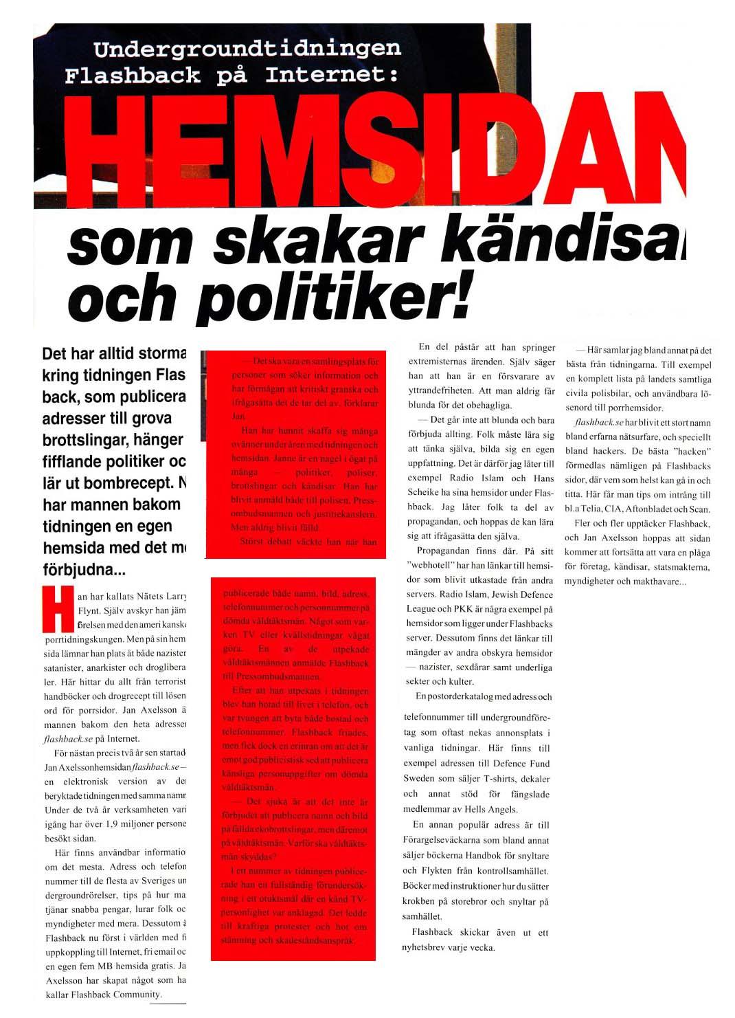 Svenska porrsidor aktuell rapport
